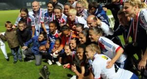Lyon vainqueur de la coupe de France 2013