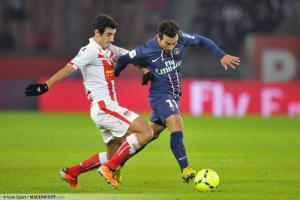 Felipe au duel avec Ezequiel Lavezzi le parisien