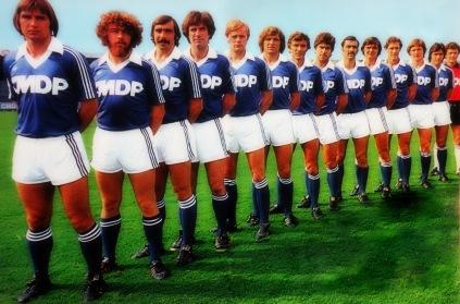 R.C STRASBOURG 1978-79 - CHAMPION DE FRANCE - FOOTBALL -