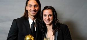 Un air de ressemblance entre Zlatan et Schelin? Pas vraiment...