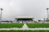 11 February 2018; A general view of the pitch and stadium prior to the President's Cup match between Dundalk and Cork City at Oriel Park in Dundalk, Co Louth. Photo by Seb Daly/Sportsfile